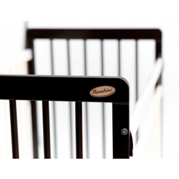 Детская кроватка Бамбини 04 Евро Стиль (маятник с ящиком)