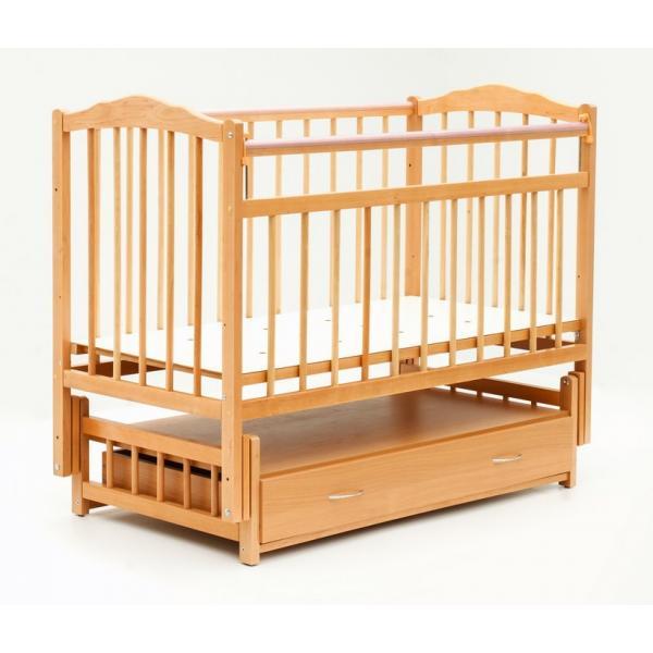 Детская кроватка Бамбини Классик + маятник