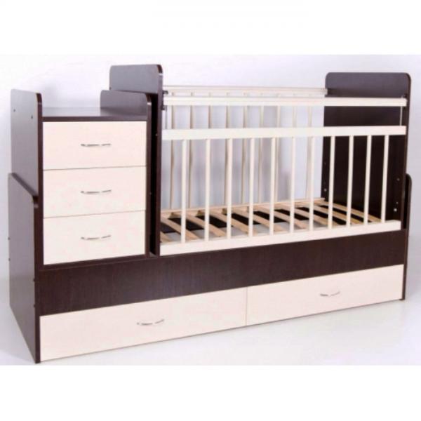 Детская кроватка-трансформер Бамбини