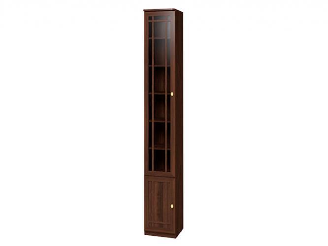 """Шкаф для книг """"Sherlock 311"""" левый орех шоколадный"""