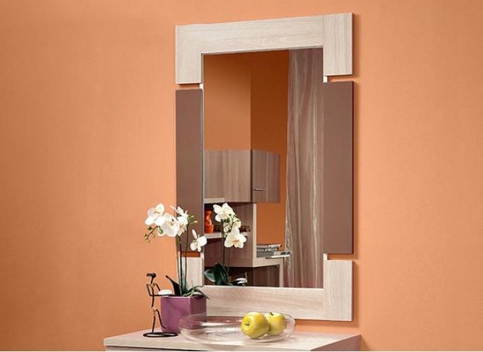 "Зеркало ""Berlin 3"" шоколадный глянец"